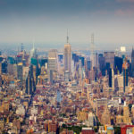 Manhattan from up high. Midtown Manhattan Skyline Photograph by Tim Jackson