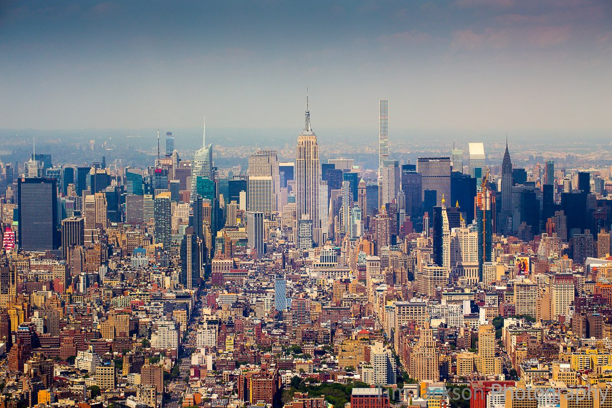 Midtown Manhattan Skyline Midtown Manhattan Skyline Photograph by Tim Jackson