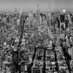 Manhattan from up high. Midtown Manhattan from Lower Manhattan Photograph by Tim Jackson