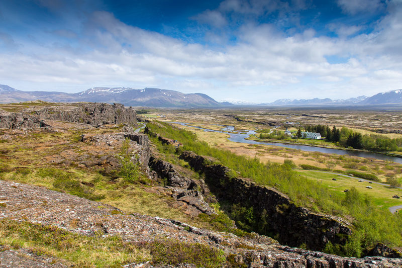 Thingvellir Rift Valley Pingvellir Rift Valley Photograph by Tim Jackson
