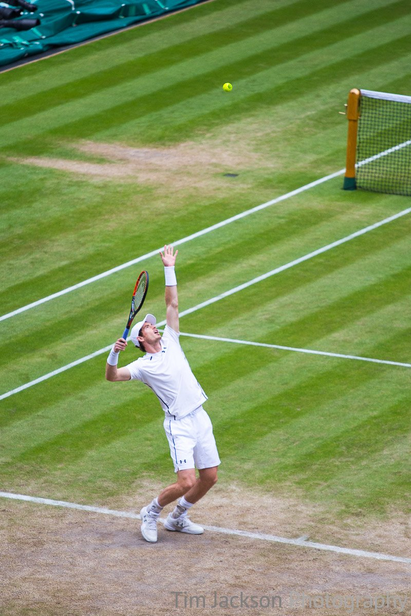 Andy Murray wins tennis match against Nick Kyrgios in straight sets to go through to quarter final of Wimbledon 2016. 2