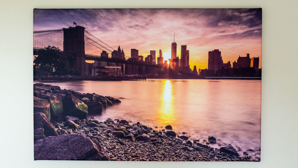 Canvas print review...well done Photobox! Photobox Canvas Print New York Photograph by Tim Jackson