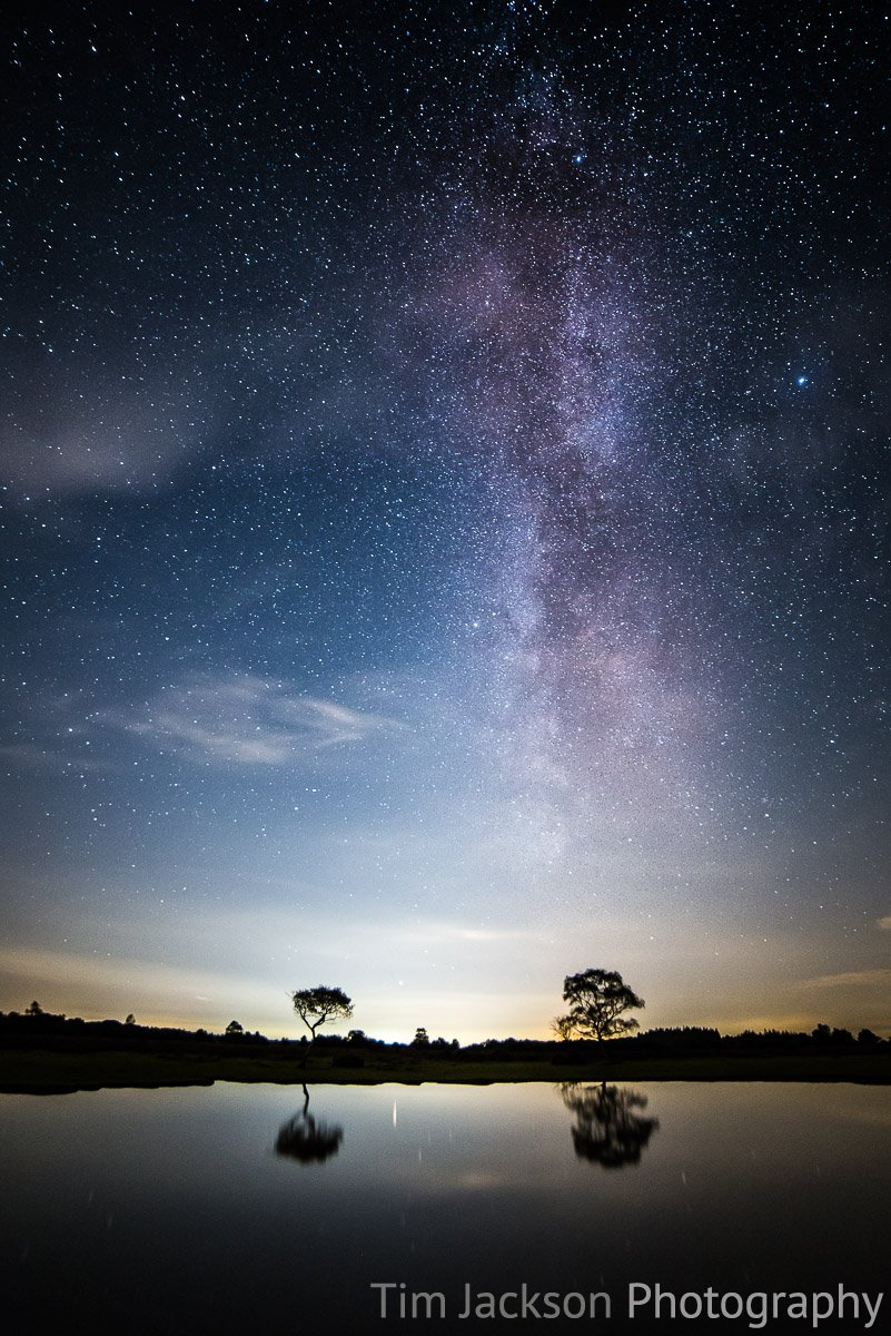 Photographing the stars and first impressions of the Samyang 14mm f/2.8 IF ED UMC. Astrophotography New Forest Photograph by Tim Jackson