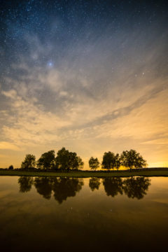 Photographing the stars and first impressions of the Samyang 14mm f/2.8 IF ED UMC. Green Pond Starscape Photograph by Tim Jackson