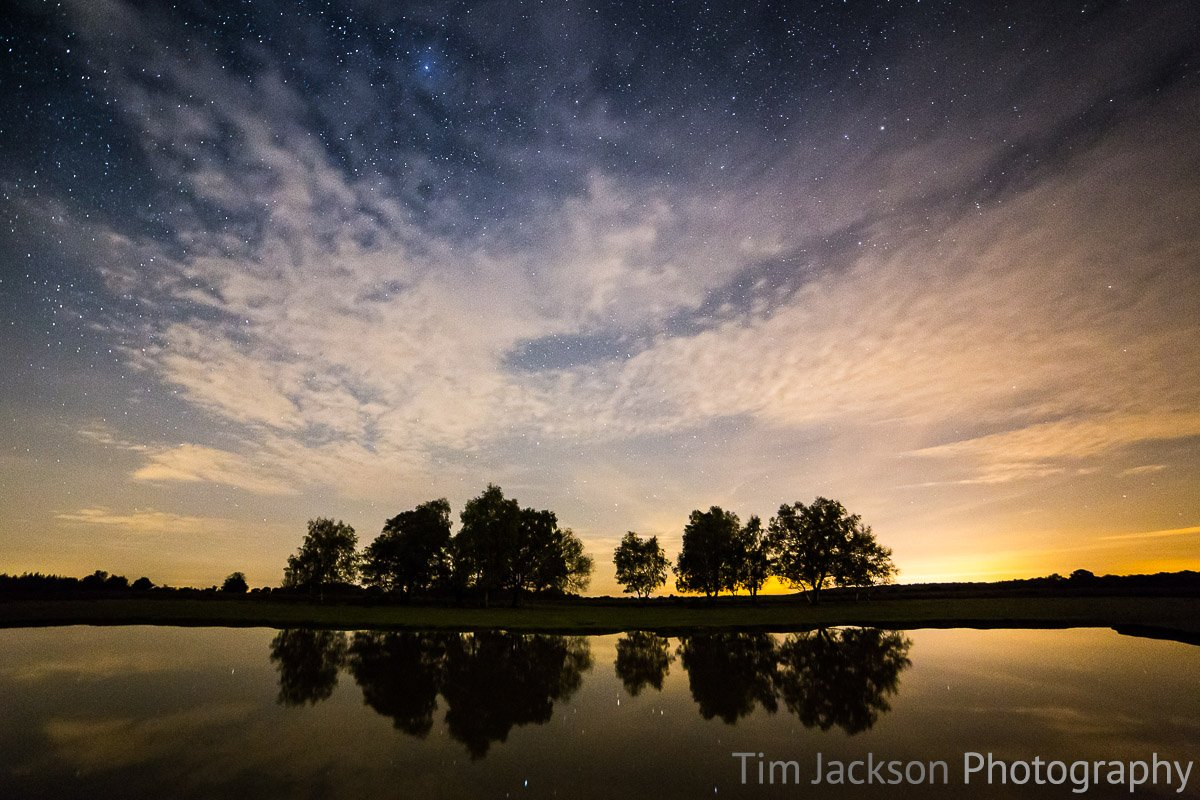 Photographing the stars and first impressions of the Samyang 14mm f/2.8 IF ED UMC. Under the Stars at Green Pond Photograph by Tim Jackson