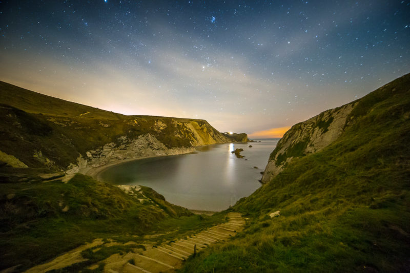 Man O War Cove at Night Man O War Cove at Night Photograph by Tim Jackson