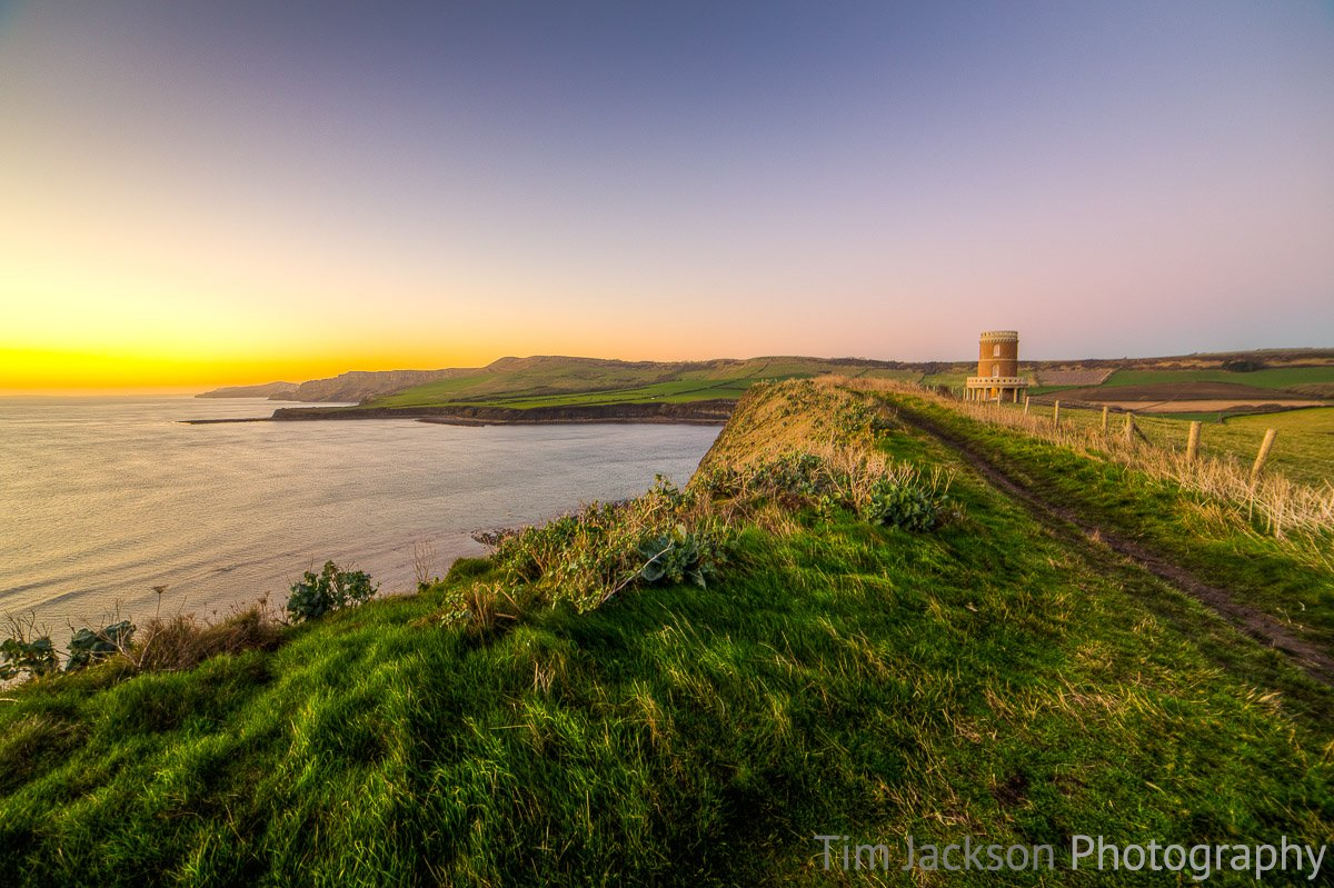 Clavell Tower Sunset Photograph by Tim Jackson