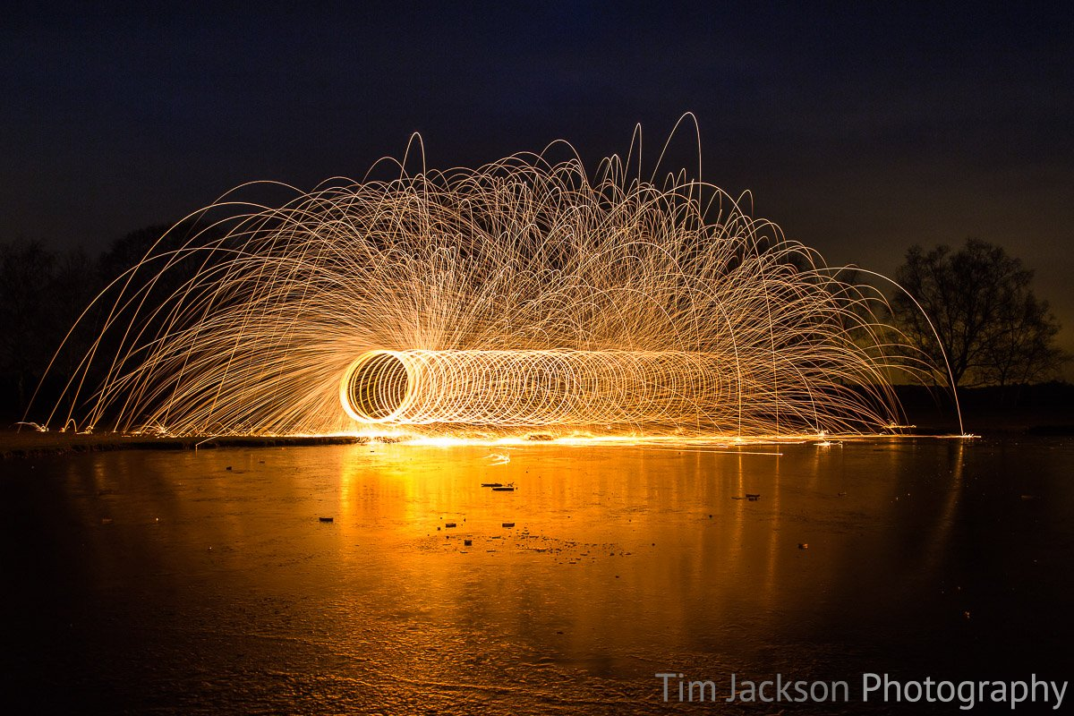 Steel Wool Spinning IMG 8765 Photograph by Tim Jackson