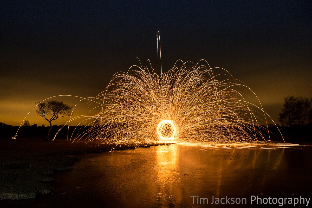 Steel Wool Spinning IMG 8815 Photograph by Tim Jackson