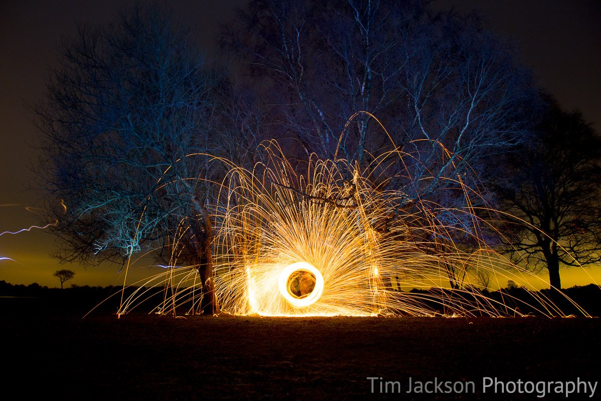 Steel Wool Spinning IMG 8824 Photograph by Tim Jackson