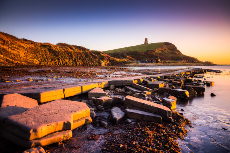 Kimmeridge Bay Sunset Kimmeridge Bay Sunset Photograph by Tim Jackson