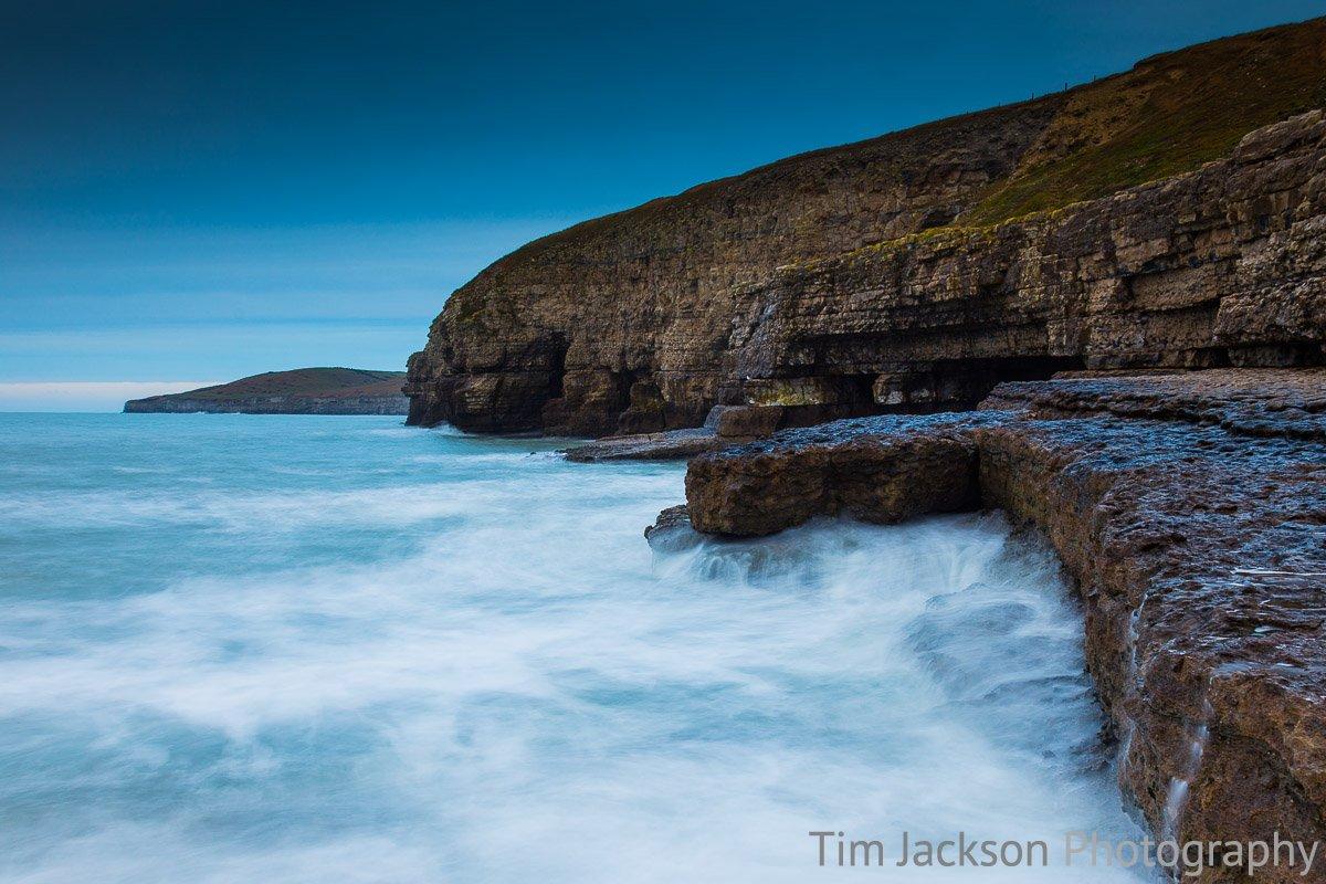 Dancing Ledge Jurassic Coast Photograph by Tim Jackson