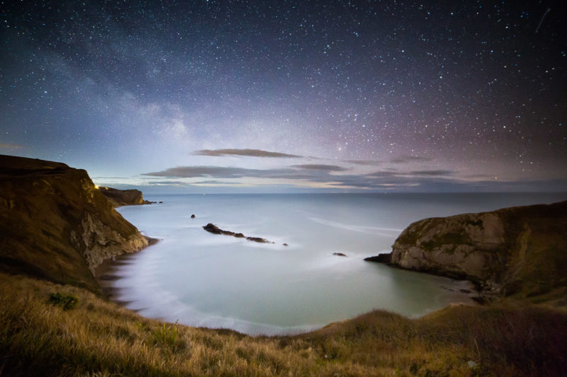 Milky Way Man O War Cove Milkyway Man o War Cove Photograph by Tim Jackson