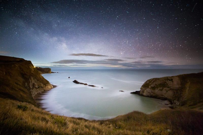 Milky Way Man O War Cove Milkyway Man o War Cove Photograph by Tim Jackson