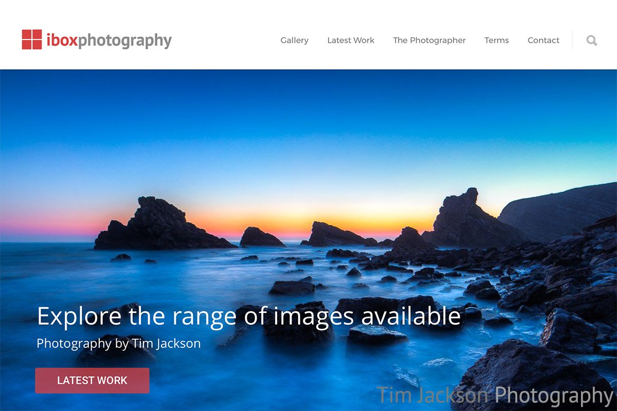 iBox Photography 2017 website refresh goes live. 7