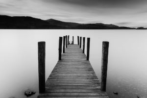Lake District Ashness Gate Jetty Derwent Water Photograph by Tim Jackson