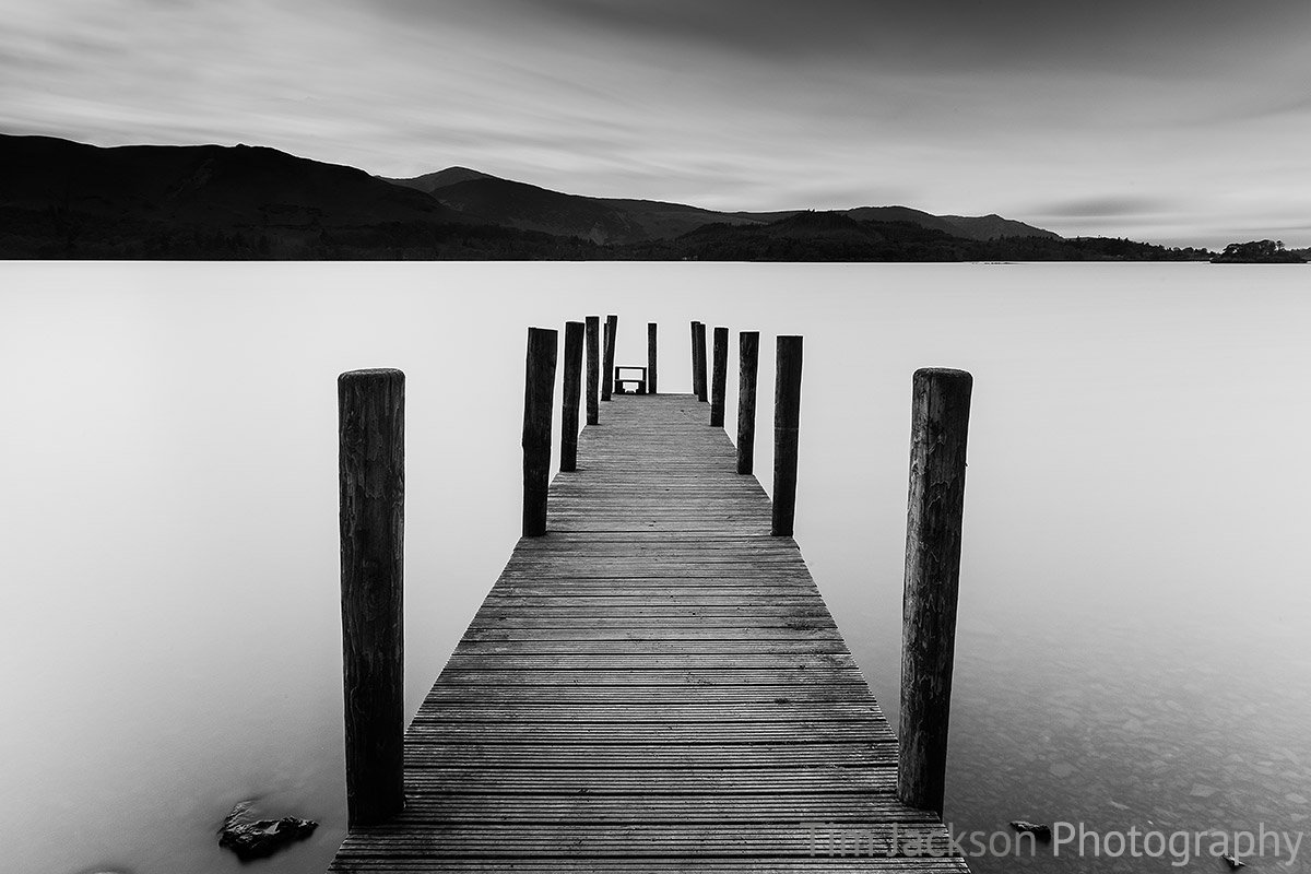 Ashness Gate Jetty Derwent Water Ashness Gate Jetty Derwent Water Photograph by Tim Jackson