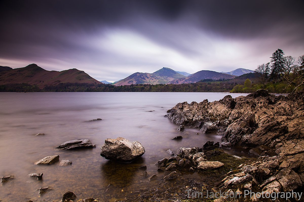 Barrow Fell From Derwent Water Barrow Fell From Derwent Water Photograph by Tim Jackson