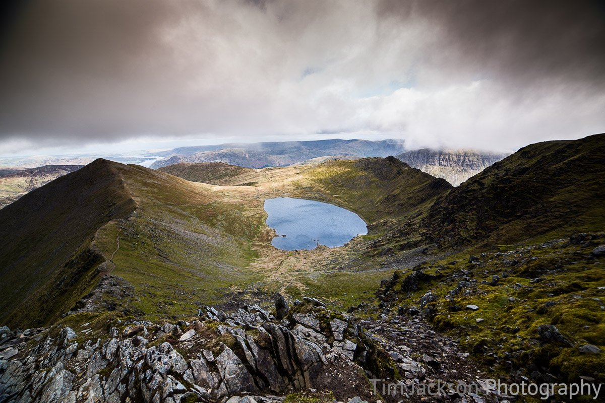 Break in the Cloud Helvellyn Photograph by Tim Jackson