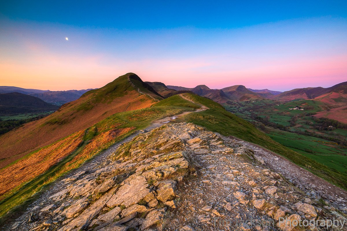 Catbells Dawn Catbells Dawn Photograph by Tim Jackson