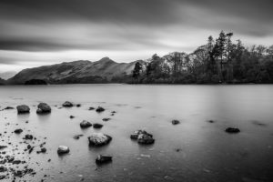 Lake District Catbells from Derwent Water Photograph by Tim Jackson
