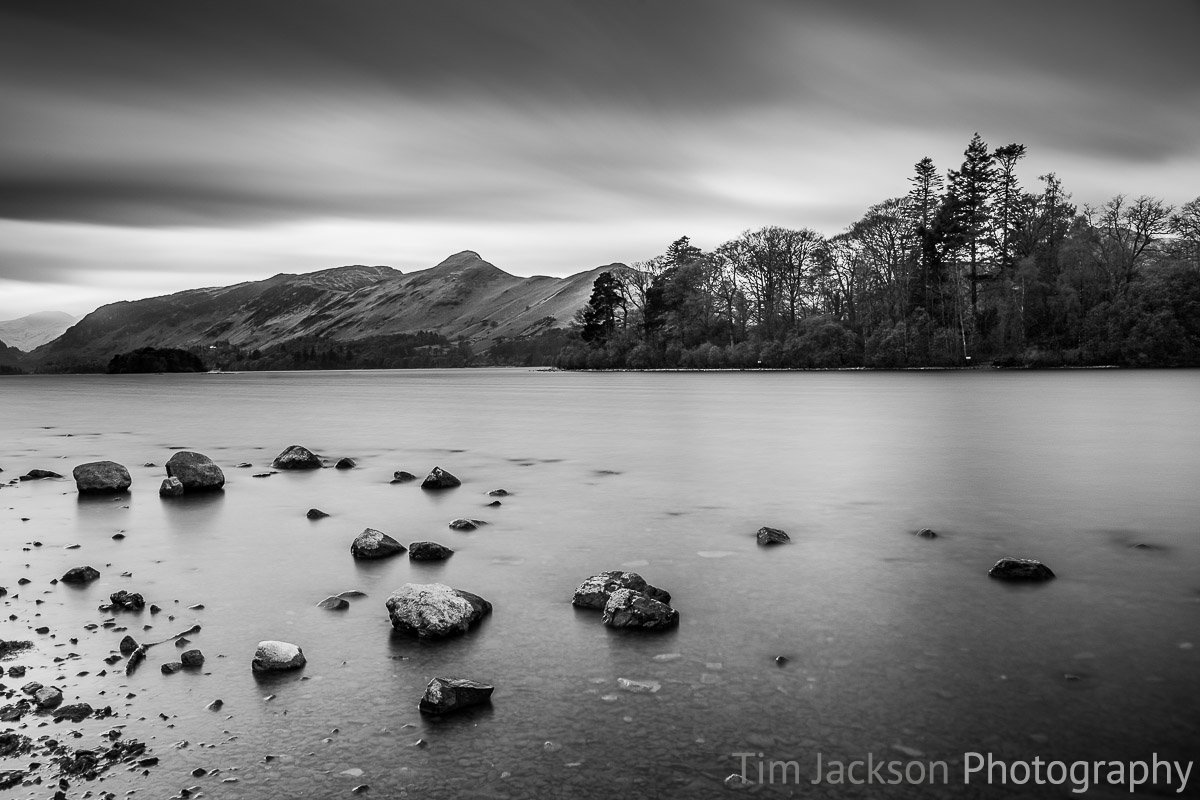 Catbells from Derwent Water Catbells from Derwent Water Photograph by Tim Jackson