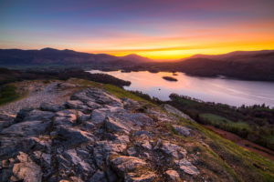 Lake District Derwent Water Dawn Photograph by Tim Jackson