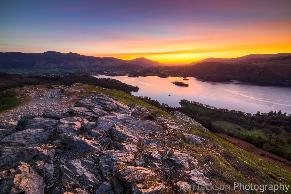Derwent Water Dawn Photograph by Tim Jackson