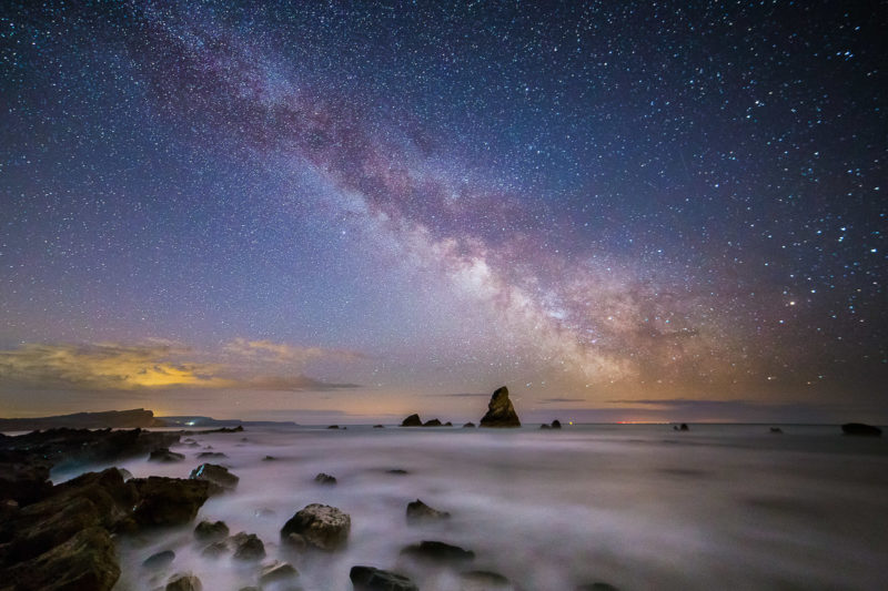 Milky Way Over Mupe Bay Milky Way Over Mupe Bay Photograph by Tim Jackson