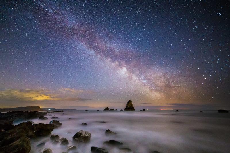 Milky Way Over Mupe Bay Milky Way Over Mupe Bay Photograph by Tim Jackson