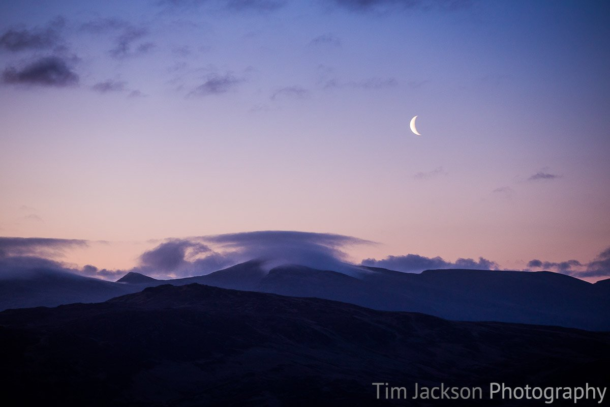 Moonrise Lake District Moonrise Lake District Photograph by Tim Jackson