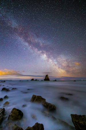 Mupe Bay Milky Way Jurassic Coast Landscape Photography