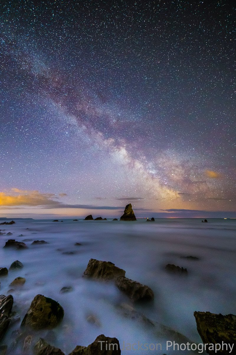 Mupe Bay Milky Way Jurassic Coast Landscape Photography