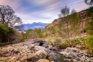 Lake District Skiddaw from Ashness Bridge Photograph by Tim Jackson