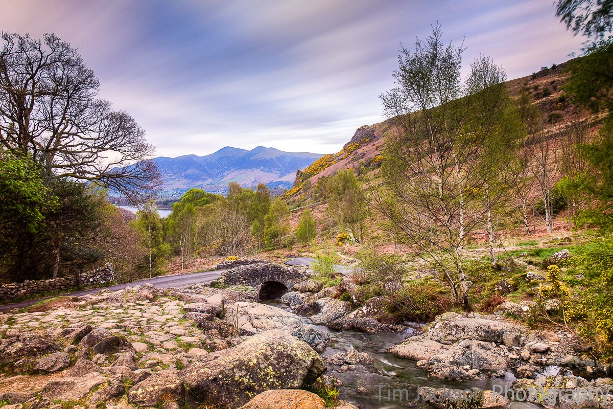 Skiddaw from Ashness Bridge Photograph by Tim Jackson