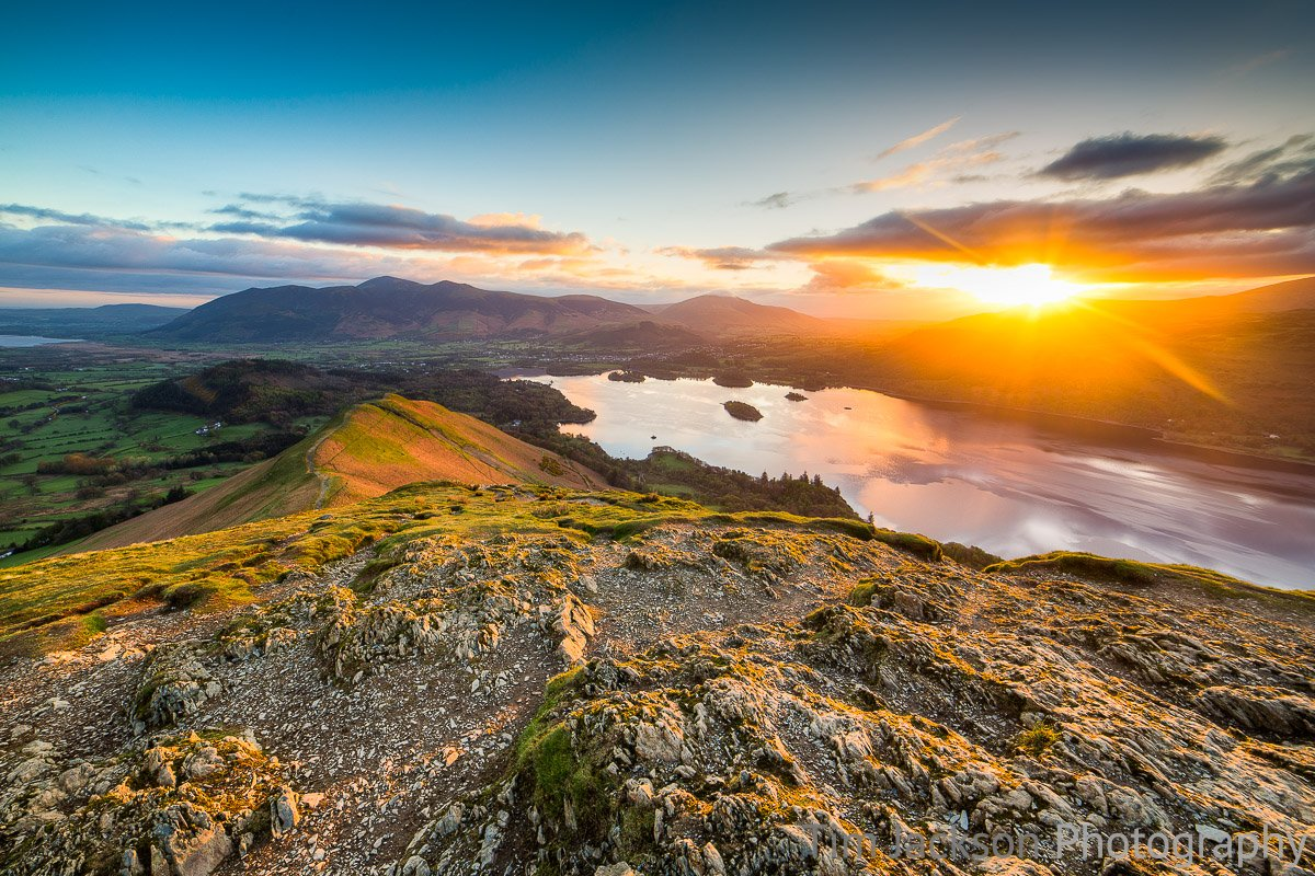Sunrise Catbells Photograph by Tim Jackson