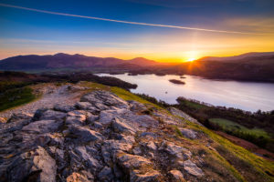Lake District Sunrise Derwent Water Photograph by Tim Jackson