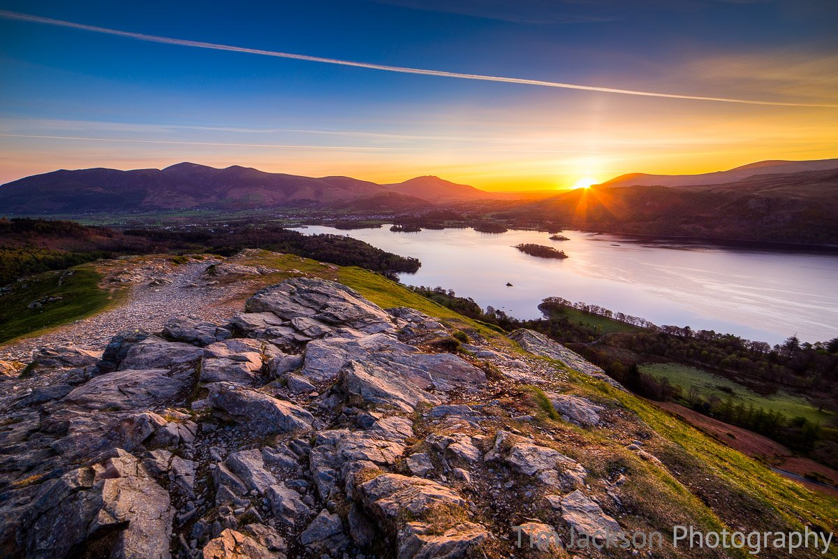 Sunrise Derwent Water Photograph by Tim Jackson