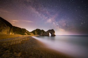 Landscape Photographer Durdle Door Milky Way Photograph by Tim Jackson