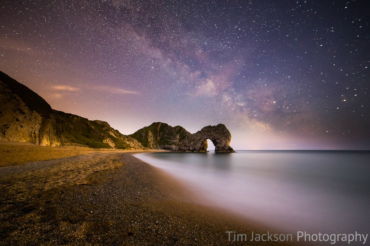 Durdle Door Milky Way Photograph by Tim Jackson