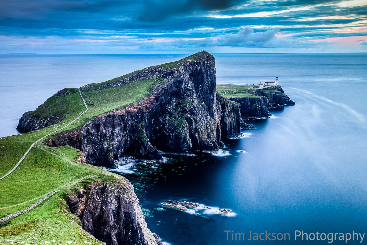 Neist Point Dusk Neist Point Dusk Photograph by Tim Jackson