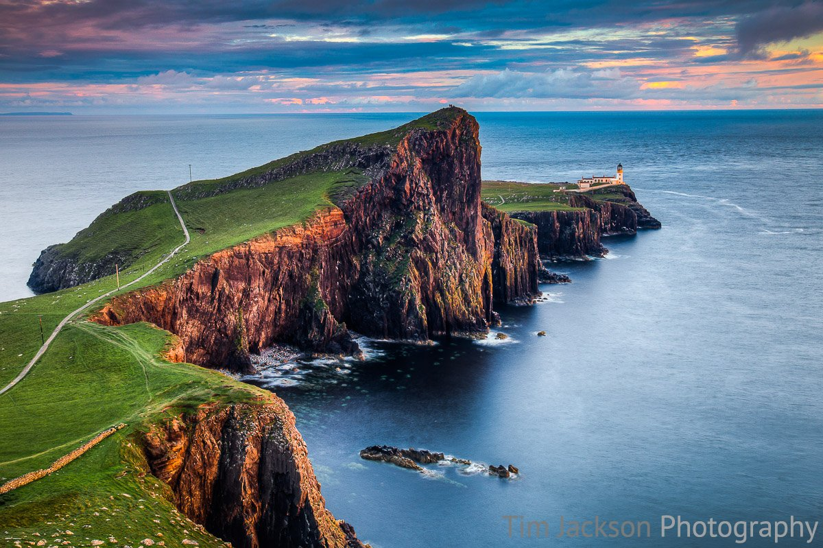 Neist Point Sunset Neist Point Sunset Photograph by Tim Jackson