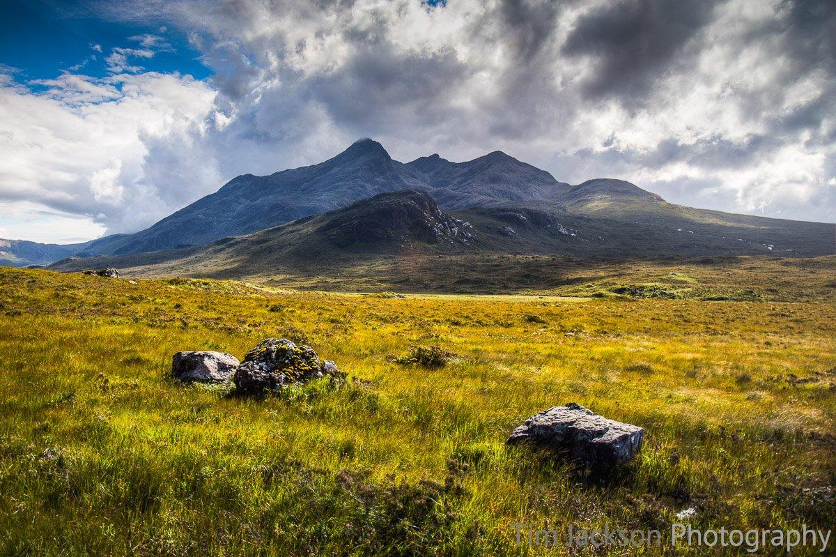 Sgurr nan Gillean Photograph by Tim Jackson
