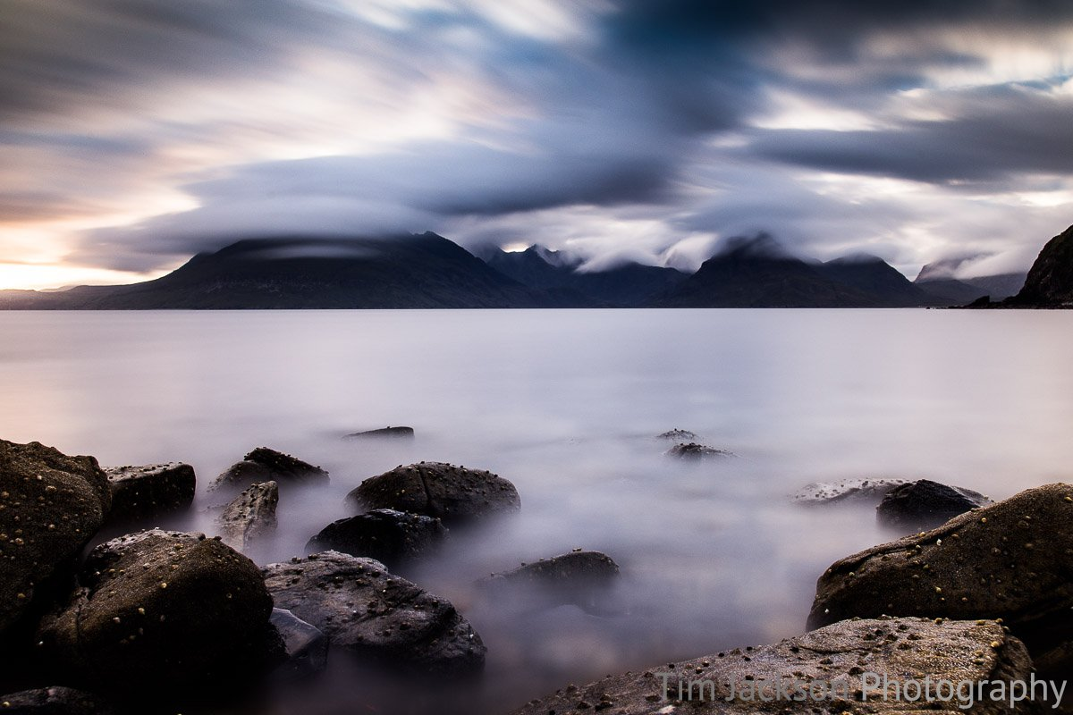 Storm Over Cuillin Range Photograph by Tim Jackson