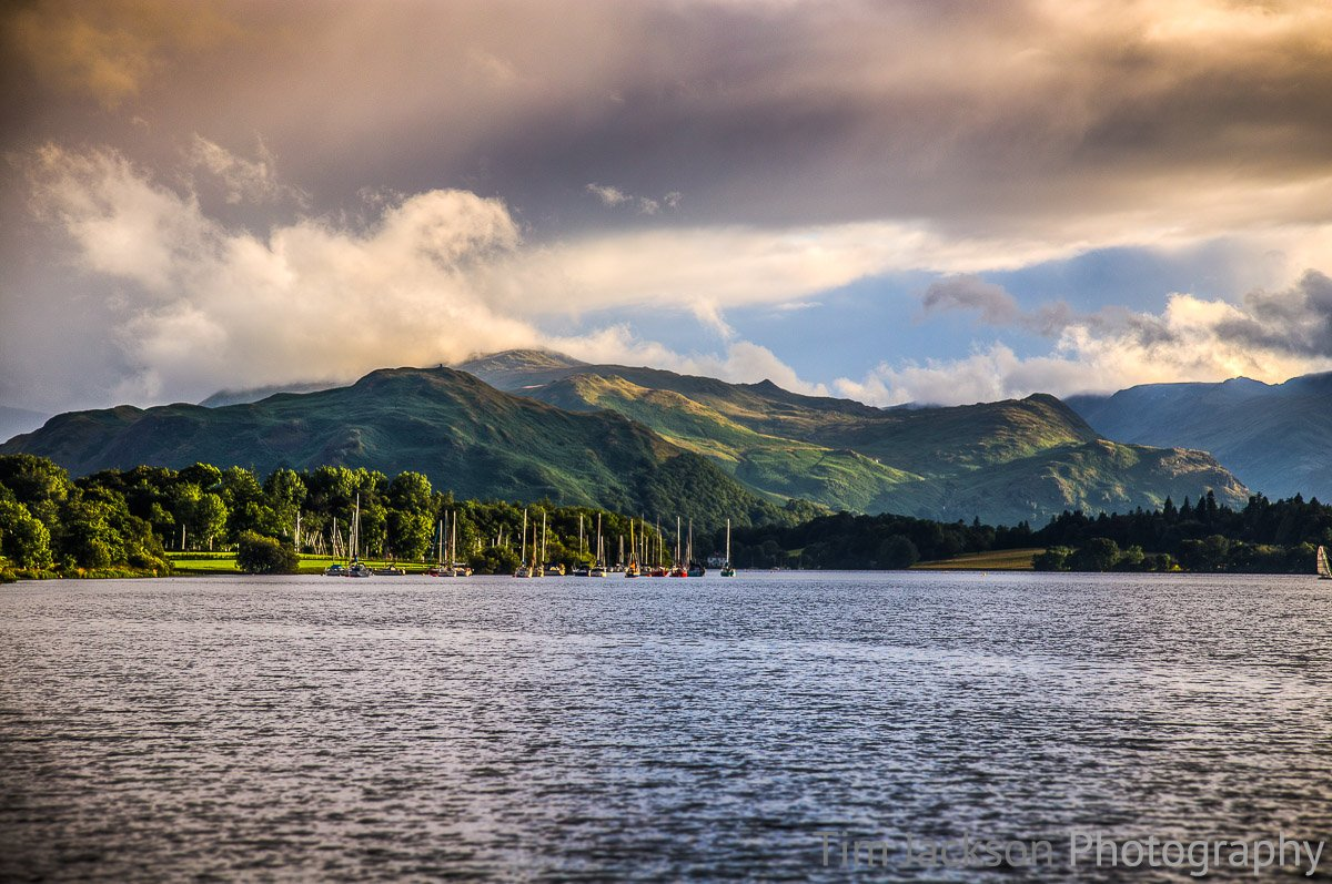 Ullswater Photograph by Tim Jackson