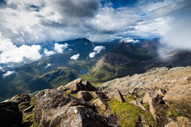 Bla Bheinn (Blaven) Highlands Bla Bheinn Blaven Highlands Photograph by Tim Jackson