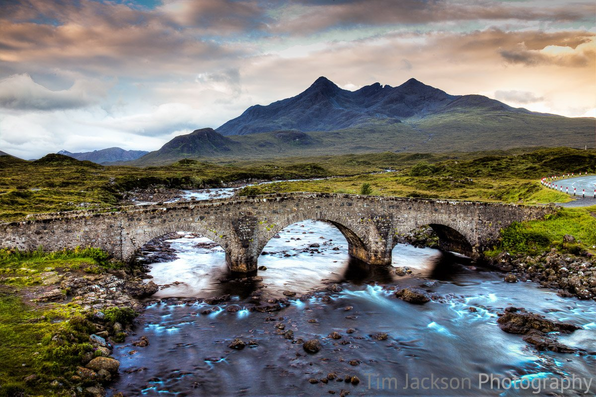 Sligachan Bridge Photograph by Tim Jackson