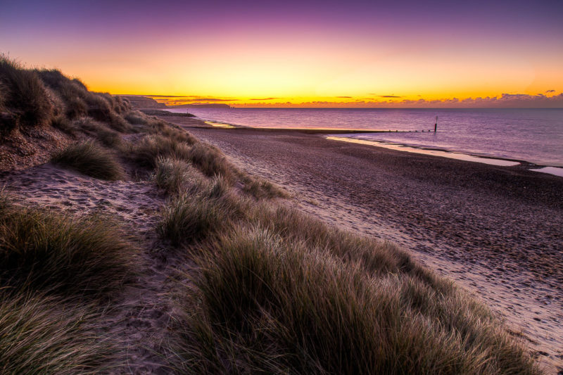 Hengistbury Head Sunrise Hengistbury Head Sunrise Photograph by Tim Jackson