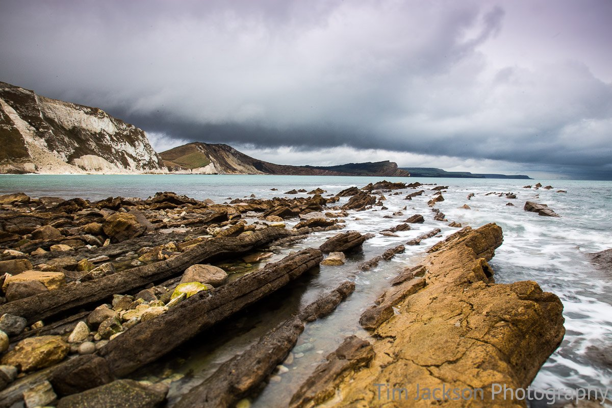 Storm in Worbarrow Bay