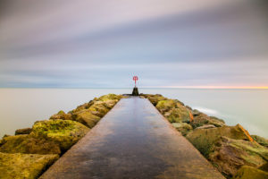 Landscape Photographer Hengistbury Head Long Exposure Photograph by Tim Jackson